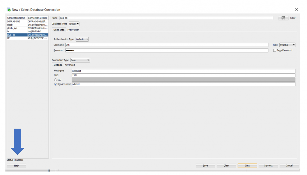 Post Installation - Configuration of Training DB in Oracle 12c Database:
